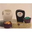 1pc Organic Tea-Infused Chocolate Truffles in Tapered Box - 1pc Tea-Infused Chocolate Truffles in Tapered Folding Box