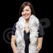 White Adult Size Feather Boa
