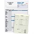 Kitchen / Bath Work Order - Estimate Form - Three part carbonless kitchen / bath work order - estimate form.