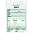 """Florist Sales Register Form - Numbered carbonless florist sales register form, 5 1/2"""" x 8 1/2""""."""