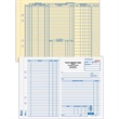 Work Order Form - Work order form, carbonless and three parts.