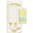 """Guest Check - Carbonless multi-part guest check with detachable customer receipt, 4 1/4"""" x 9""""."""