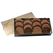 6 Custom Round Cookies in a Hot Stamp Gift Box
