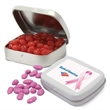 Assorted Jelly Beans in small pocket tin - Assorted jelly beans in a small pocket tin, .90 oz.