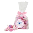Gourmet Jelly Bean Candy in Large Mug Drop bag with Bow - Gourmet jelly beans in a large gusset bag with a bow, 16.25 oz.