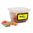 Salt Water Taffy Candy in small square tub - Taffy in a small square tub, 5.5 oz.