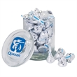 Gourmet Glass Candy Jar filled with Salt Water Taffy - Gourmet Glass Candy Jar filled with Salt Water Taffy