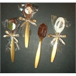 Chocolate Stirring Spoons - Flavored chocolate stirring spoons for coffee or cocoa