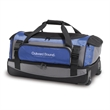 Velocity Rolling Duffel - Duffel bag with large main compartment, two top loading compartments, telescoping handle and inline wheels.