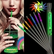 """Variety Pack 9"""" Light Up Glow Motion Straw"""