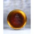 "Jade Glass Award Plate  with Gold Leaf 8"" - Jade Glass Award Plate  with Gold Leaf 8"""