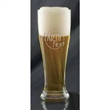 "Pilsner Glass - 8"" tall 16-ounce Pilsner-style beer glass."