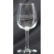 """Wine Taster - 7.5"""" tall 12.75-ounce wine tasting glass with long stem design."""