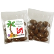 Individual Bag of Chocolate Covered Almonds - Individually wrapped bag of chocolate covered almonds (1 oz).