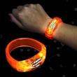 Orange LED Light Up Bangle Bracelet