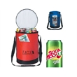 Can Cooler Bag - Can shaped cooler bag with strap.