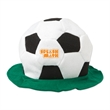 Soccer Hat - Velour soccer themed hat with customization.