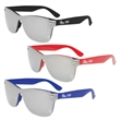 Mirrored Lens Iconic Glasses - Adult sized sunglasses with mirrored lenses and UV400 protection.