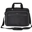 """Solo® Empire Briefcase - 4.5"""" x 12.75"""" x 16.5"""" Solo Empire briefcase; includes 17"""" laptop pocket, standard/mini tablet pocket, and adjustable strap."""
