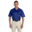 Adidas Golf Men's ClimaLite (R) Heather Polo - Men's heather polo. 100% polyester with moisture-wicking.