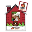 House Picture Frame Magnet - Rect Punch Out - House Picture Frame Magnet - Rect Punch Out