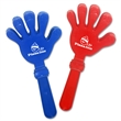 "Premium Plastic Hand Clapper - 7"" hand clapper that's made of plastic and will add needed noise to any cheering section."