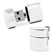 4GB Silver Oval USB Flash Drive Cufflinks - Engrave our one of a kind functional USB Flash Drive Cufflinks w/your company logo.