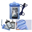 PVC waterproof pouch with a lanyard for smart phones - PVC waterproof pouch with a lanyard for smart phones