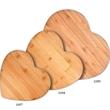 Bamboo Heart Shaped Cutting Board