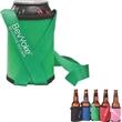 BevYoke™ Beverage Holder - Beverage holder, stretchable neoprene sleeve with lanyard.