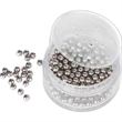Decanter Cleaning Balls, Large Size Version - Stainless steel decanter cleaning balls, large size version. Blank.