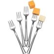 Appetizer Forks, Metallized Finish, 50 Pack