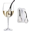 Cool-Bell (TM) Wine Glass Chiller, Set of Two With Case