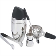 Barman's Deluxe Cocktail Shaker Set, 5 Stainless Steel Piece