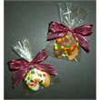 Autumn Leaf Fortune Cookies - Chocolate fortune cookies with leaf sprinkles contains custom message