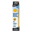 12 Pack #2 HB Yellow Pencils with Pink Eraser