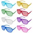 Shutter Glasses - Glasses with slots instead of lenses