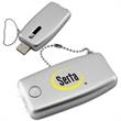 Keychain Light - LED - Rechargeable USB - Keychain with 2 white LED's and rechargeable USB.