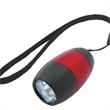 Light Up Flashlight - 6 LED - Red - Light up 6 LED flashlight - red. Blank.