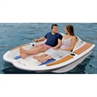 The Electric Motorboat - Electric watercraft that provides effortless waterborne excursions for two people.