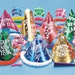 Happy New Year Metallic Cabaret Party Kit for 50 - Happy New Year metallic cabaret party kit for 50 people. Blank.