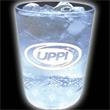 Light Up Cup - 12 oz - 5 White LED - Clear Cup - Clear white 12-oz light up cup w/five 3-mode white LED lights.