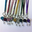 "Bling Rhinestone Lanyards 1/2"" with Badge Reels"