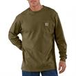 Long Sleeve Work-Wear Crewneck T-Shirt - Long Sleeve Work-Wear Crewneck T-Shirt made of 100% cotton jersey knit.