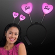 izable light up hearts head boppers