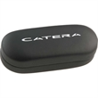 "Black Deep Hard Shell Case - Black deeper hard clam shell style eyeglass case, 1 1/2"" depth."