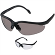Armor Safety Glasses - Lightweight, wrap-style safety glasses. Polycarbonate lenses.