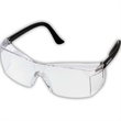 Chissel Safety Glasses - Safety glasses with black temple and clear UV protected lenses.