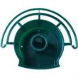"""Bird Feeder - 5 1/4"""" x 1 5/8"""" hunter green bird feeder made of polypropylene."""