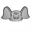 Elephant Headband - Elephant headband.